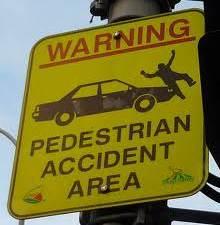 fake accident