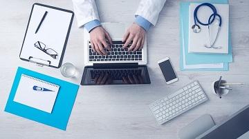 doctor, computer, diagnosis