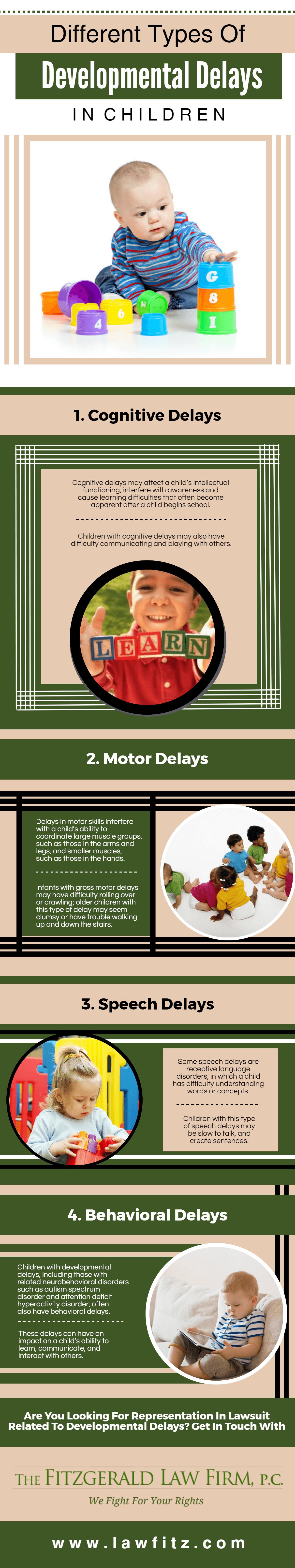 Different Types Of Developmental Delays in Children
